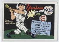 1938 World Series [GoodtoVG‑EX]