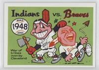 Cleveland Indians Team, Boston Braves Team