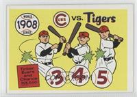 1908-Detroit Tigers vs. Chicago Cubs