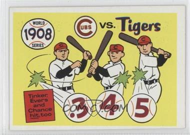 1970 Fleer Laughlin World Series #5 - 1908-Detroit Tigers vs. Chicago Cubs