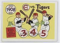 1908-Detroit Tigers vs. Chicago Cubs