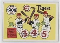 1908-Detroit Tigers vs. Chicago Cubs [Good to VG‑EX]