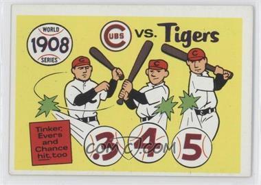 1970 Fleer Laughlin World Series #5 - 1908 World Series