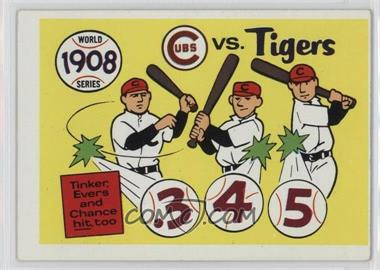 1970 Fleer Laughlin World Series #5 - 1908 World Series