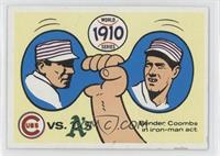 Philadelphia Athletics Team, Chicago Cubs Team [Good to VG‑EX]