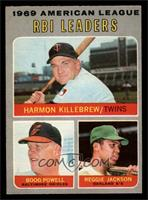 Boog Powell, Reggie Jackson, Harmon Killebrew [NM]