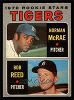 Tigers Rookie Stars (Norm McRae, Bob Reed) [VG]