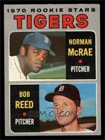 Tigers Rookie Stars (Norm McRae, Bob Reed) [VGEX]