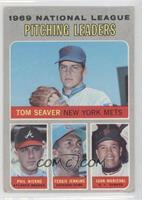 NL Pitching Leaders  (Tom Seaver, Phil Niekro, Fergie Jenkins, Juan Marichal) […