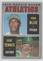 Athletics Rookie Stars (Vida Blue, Gene Tenace) [GoodtoVG‑EX]