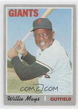 1970 Topps - [Base] #600 - Willie Mays