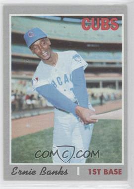 1970 Topps - [Base] #630 - Ernie Banks