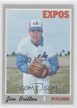1970 Topps - [Base] #646 - Jim Britton