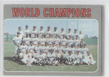1970 Topps #1 - World Champions (New York Mets)