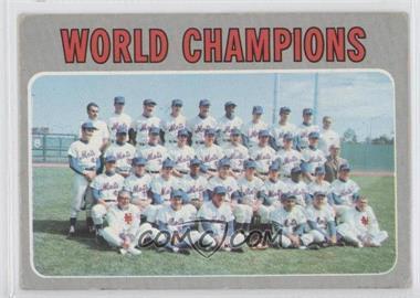 1970 Topps #1 - World Champions (New York Mets)