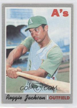 1970 Topps #140 - Reggie Jackson