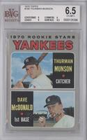 1970 Rookie Stars (Thurman Munson, Dave McDonald) [BVG6.5]