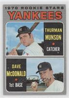 1970 Rookie Stars (Thurman Munson, Dave McDonald)