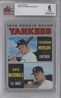 1970 Rookie Stars (Thurman Munson, Dave McDonald) [BVG6]