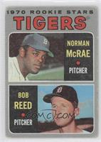 Tigers Rookie Stars (Norm McRae, Bob Reed) [Poor to Fair]