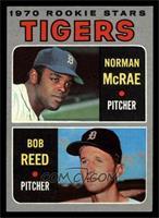 Tigers Rookie Stars (Norm McRae, Bob Reed) [EX]