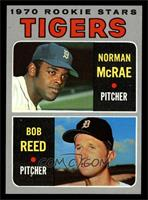 Tigers Rookie Stars (Norm McRae, Bob Reed) [NM MT]