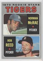 Tigers Rookie Stars (Norm McRae, Bob Reed)
