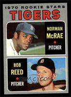 Tigers Rookie Stars (Norm McRae, Bob Reed) [NM]