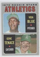Athletics Rookie Stars (Vida Blue, Gene Tenace)