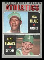 Athletics Rookie Stars (Vida Blue, Gene Tenace) [EXMT]