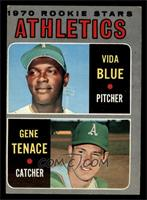 Athletics Rookie Stars (Vida Blue, Gene Tenace) [EX]