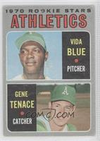 Vida Blue, Gene Tenace