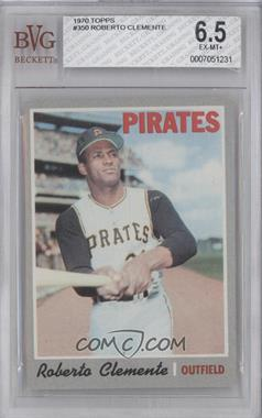 1970 Topps #350 - Roberto Clemente [BVG 6.5]