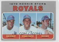 Don O'Riley, Dennis Paepke, Fred Rico
