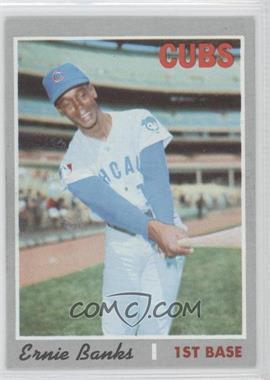 1970 Topps #630 - Ernie Banks
