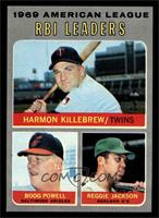 Boog Powell, Reggie Jackson, Harmon Killebrew [NM MT]