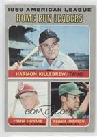 Frank Howard, Reggie Jackson, Harmon Killebrew