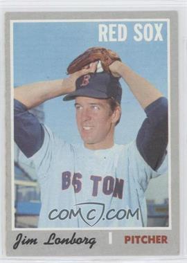 1970 Topps #665 - Jim Lonborg