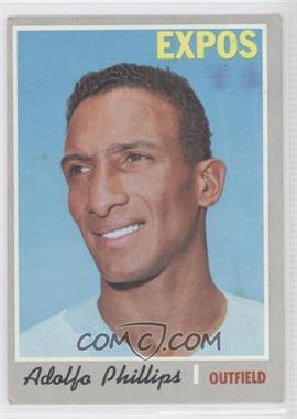 1970 Topps #666 - Adolfo Phillips