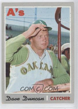 1970 Topps #678 - Dave Duncan