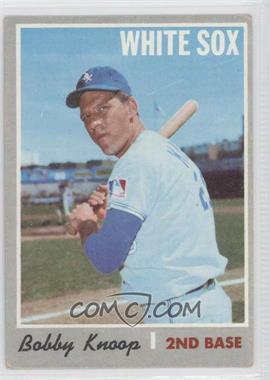 1970 Topps #695 - Bobby Knoop