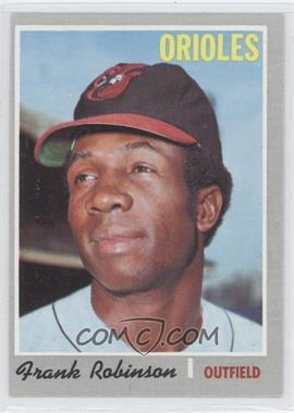1970 Topps #700 - Frank Robinson