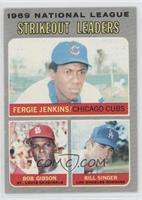 Fergie Jenkins, Bob Gibson, Bill Singer [Good to VG‑EX]