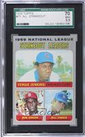National League Strikeout Leaders (Fergie Jenkins, Bob Gibson, Bill Singer) [SG…