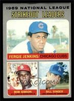 National League Strikeout Leaders (Fergie Jenkins, Bob Gibson, Bill Singer) [VG…
