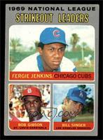 National League Strikeout Leaders (Fergie Jenkins, Bob Gibson, Bill Singer) [VG]