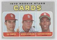 Sal Campisi, Reggie Cleveland, Santiago Guzman