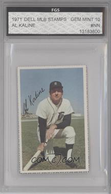 1971 Dell MLB Stamps #ALKA - Al Kaline [ENCASED]