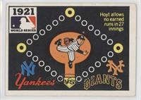1921 - New York Yankees vs. New York Giants [GoodtoVG‑EX]