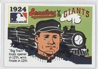 1924 - Washington Senators vs. New York Giants